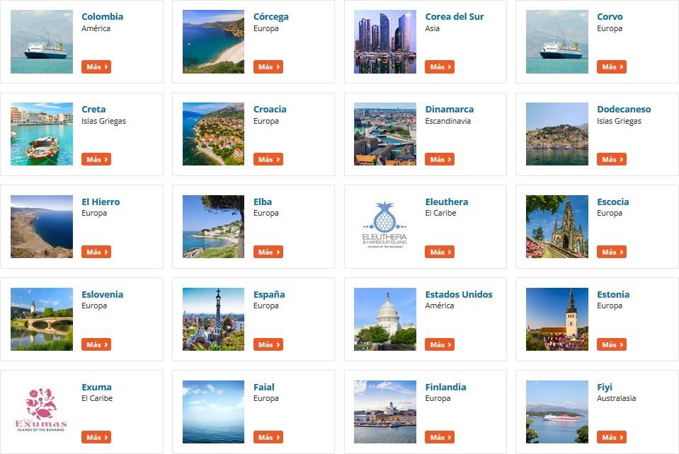 DirectFerries_Destinos2. ViajerosAlBlog.com