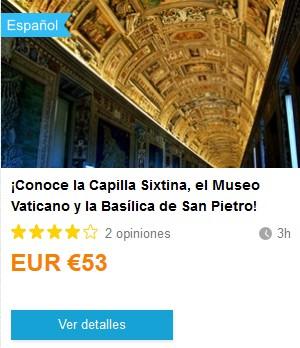 Weplann_CapillaSixtinaMuseoVaticanoBasilicaSanPedro. ViajerosAlBlog.com
