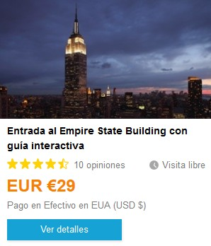 Weplann_EntradaEmpireStateBuilding. ViajerosAlBlog.com