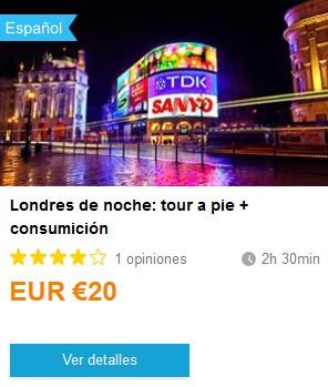 Weplann_LondresNoche. ViajerosAlBlog.com