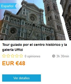 Weplann_TourGuiadoFlorenciaUffizi. ViajerosAlBlog.com
